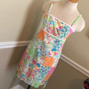 Lilly Pulitzer print summer dress size 6